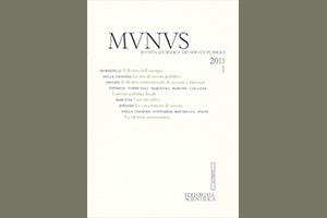 Munus. Rivista giuridica dei servizi pubblici – Abb. 2011